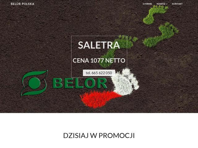 Nawóz saletra | BELOR-Polska Sp. z o.o.
